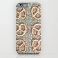 iPhone & iPod Case featuring Pretzel Party by i am roco
