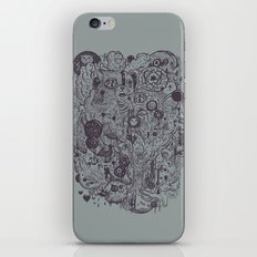 Polyphobic Vomit iPhone & iPod Skin