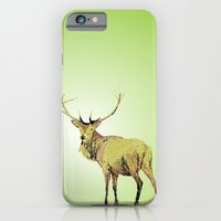 iPhone & iPod Case featuring Deer by creaziz