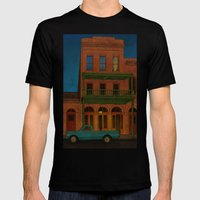 The Visitor Mens Fitted Tee Black SMALL
