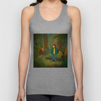 Chilling in the Woods Unisex Tank Top