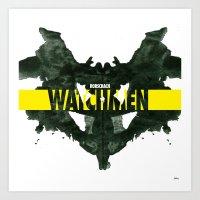 Watchmen 2.0 - Rorschach Art Print