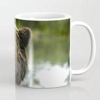 Going Fishing - Brown Bear  Mug