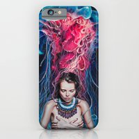 iPhone Cases featuring Metamorphosis by Tanya Shatseva