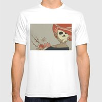 Death Mens Fitted Tee White SMALL