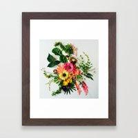 Botanical Mandala Framed Art Print