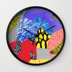 Colors & Shapes Wall Clock