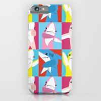iPhone & iPod Case featuring Left Shark Pop Art by Brittany Metz