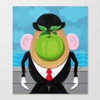 Son of the tuber  Canvas Print