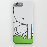 Mommy Elephant iPhone 6 Slim Case