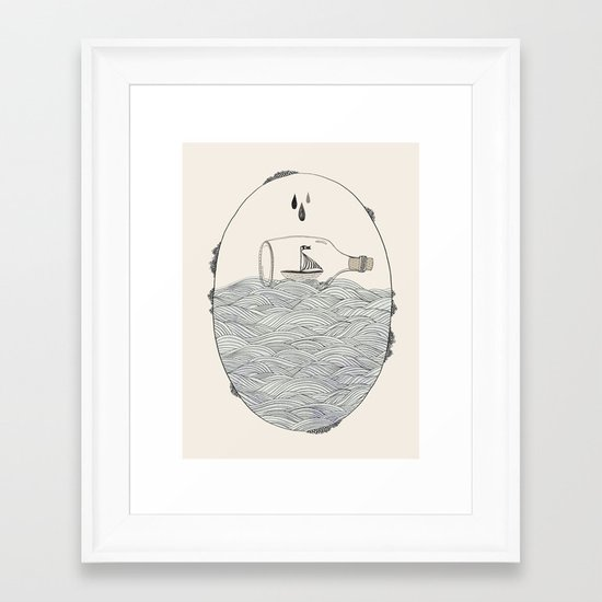 SEABOUND Framed Art Print