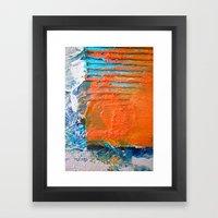COLOUR · SHAPE · DEPTH Framed Art Print