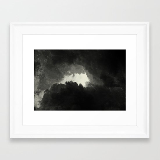 Hole In The Sky II Framed Art Print