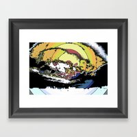 The Most Epic Explosion … Framed Art Print