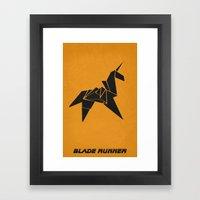 Blade Runner - Minimalis… Framed Art Print