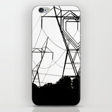 I heart your electricity. iPhone & iPod Skin