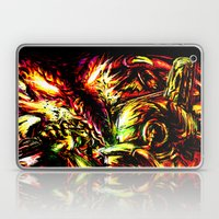 Metroid Metal: Ridley- Through the Fire.. Laptop & iPad Skin