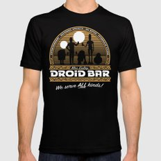 Droid Bar SMALL Mens Fitted Tee Black