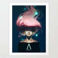AMP_I Art Print