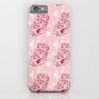 iPhone & iPod Case featuring Strawberry Ice cream Pop by heatherinasuitcase