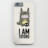 I am Totoro iPhone 6 Slim Case