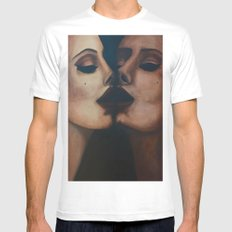 Mirror, Mirror  Mens Fitted Tee White SMALL