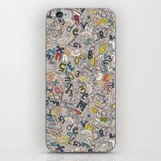 A1B2C3 clay iPhone & iPod Skin