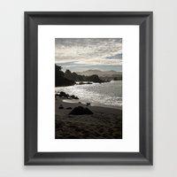 Duncans Cove  Framed Art Print