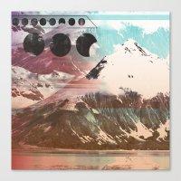Mountainous Range Canvas Print