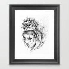Las ideas de Alena Framed Art Print