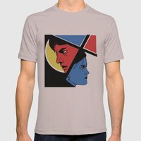 Love In 3 Colors Mens Fitted Tee Cinder SMALL