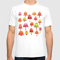 Jellies On Plates Mens Fitted Tee White SMALL
