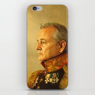 Bill Murray - Replacefac… iPhone & iPod Skin