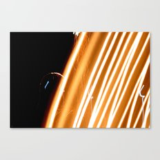 Line Up Here Canvas Print