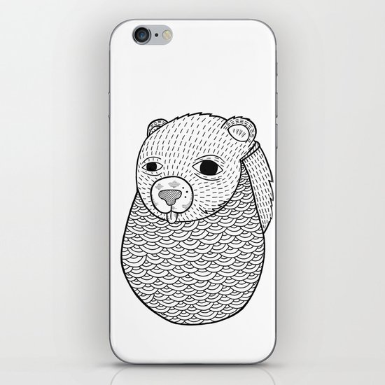 Mr. Rupel's Most Ingenuous Beard for Bears  iPhone & iPod Skin