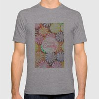I Want Candy Mens Fitted Tee Athletic Grey SMALL