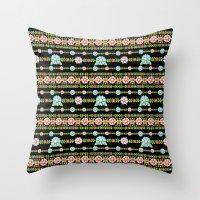 Millefiori Boho Chic Stripe Throw Pillow