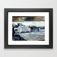 History On The Wall 2 @ … Framed Art Print