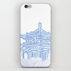 Zen temple in the cloud iPhone & iPod Skin