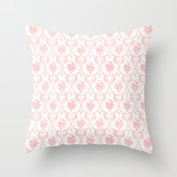 Grimm In Pink Throw Pillow