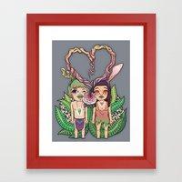 Lover_How We Became Framed Art Print