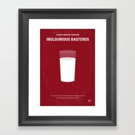 No138 My Inglourious Bas… Framed Art Print
