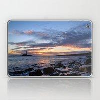 Sunrise at St Mary's Lighthouse Laptop & iPad Skin