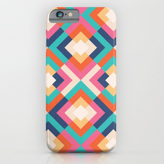 Colorful Geometric iPhone & iPod Case