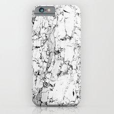 white marble iPhone 6s Slim Case