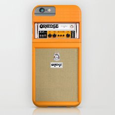 Retro Orange guitar electric amp amplifier iPhone 4 4s 5 5s 5c, ipad, tshirt, mugs and pillow case Slim Case iPhone 6s