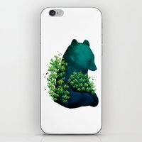 Nature's embrace iPhone & iPod Skin