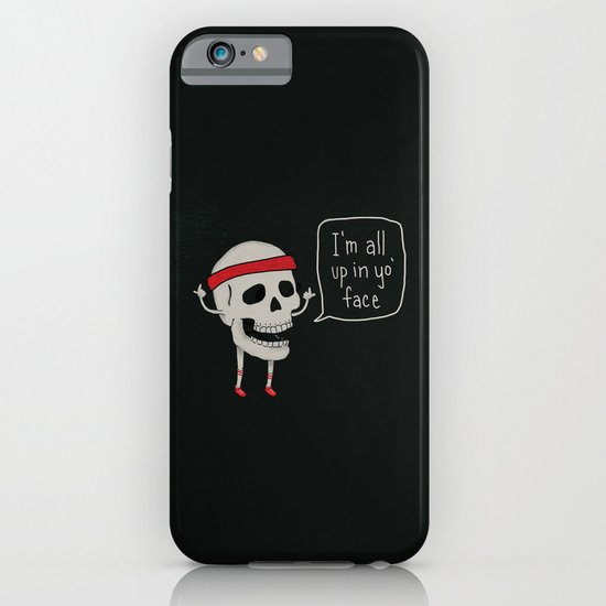 Skull in your Face iPhone & iPod Case