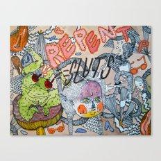 REPENT Canvas Print