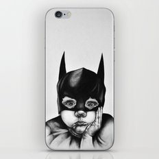 Waiting For a Hero (Bat Boy) iPhone & iPod Skin